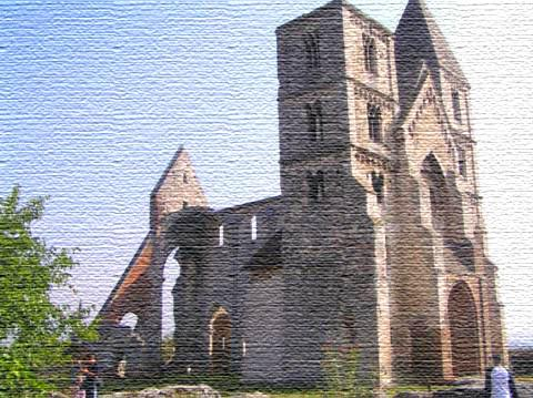 zsámbék templom